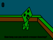 Minecraft Creeper Dancing