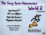 The Fancy Pants Adventure…